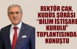 """Rektör Can Kudüs Şûrâsı """"Bilim İstişare..."""