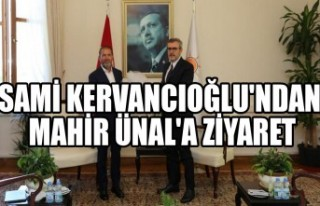 Sami Kervancıoğlu'ndan Mahir Ünal'a Ziyaret