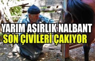 Yarım Asırlık Nalbant Son Çivileri Çakıyor
