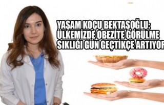 Yaşam Koçu Bektaşoğlu:Ülkemizde Obezite Görülme...