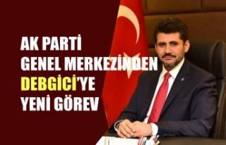 AK Parti Genel Merkezinden Debgici'ye Yeni Görev