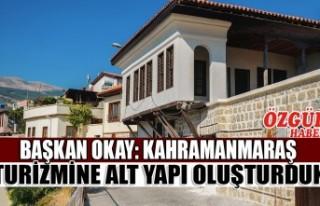 Başkan Okay: Kahramanmaraş Turizmine Alt Yapı Oluşturduk