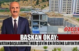Başkan Okay'dan Dulkadiroğlu'na Dev Bir Eser...