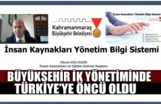 Büyükşehir İK Yönetiminde Türkiye'ye Öncü...
