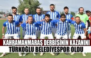 Kahramanmaraş Derbisinin Kazanını Türkoğlu Belediyespor...