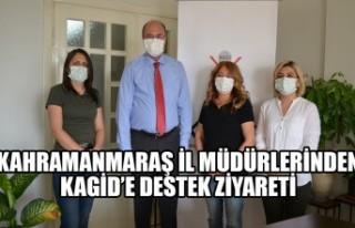 Kahramanmaraş İl Müdürlerinden KAGİD'e Destek...
