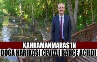 Kahramanmaraş'ın Doğa Harikası Cevizli Bahçe...