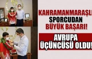 Kahramanmaraşlı Güreşçi Remzi Temur U15 Avrupa...
