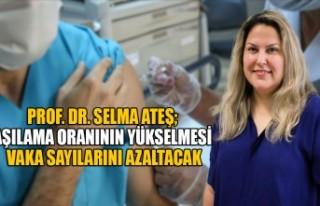 Prof. Dr. Selma Ateş; Aşılama Oranının Yükselmesi...