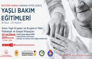 Prof. Eker'le 'Yaşlıların Tıbbi, Psikolojik...