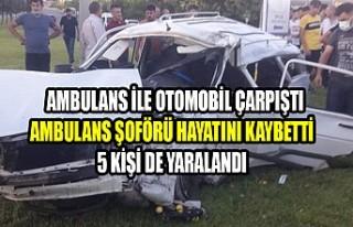 Kahramanmaraş'ta Trafik Kazası, Ambulans Şoförü...