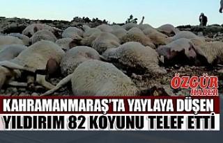 Kahramanmaraş'ta Yaylaya Düşen Yıldırım 82...
