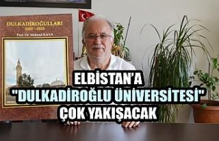 """Elbistan'a """"Dulkadiroğlu Üniversitesi""""..."""