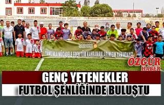 Genç Yetenekler Futbol Şenliğinde Buluştu