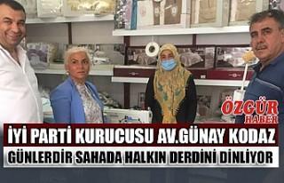 İYİ Parti Kurucusu Kodaz Günlerdir Sahada Halkın...