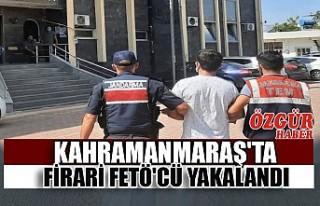 Kahramanmaraş'ta Firari Fetö'cü Yakalandı