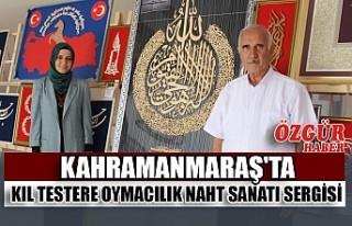 Kahramanmaraş'ta Kıl Testere Oymacılık Naht...