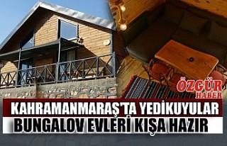 Kahramanmaraş'ta Yedikuyular Bungalov Evleri...