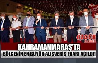 Kahramanmaraş'ta Bölgenin En Büyük Alışveriş...