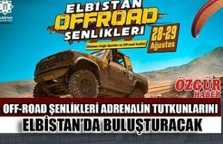 Off-Road Şenlikleri Adrenalin Tutkunlarını Elbistan'da...
