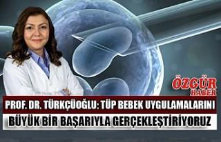 Prof. Dr. Türkçüoğlu: Tüp Bebek Uygulamalarını...