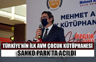 Türkiye'nin İlk AVM Çocuk Kütüphanesi SANKO...