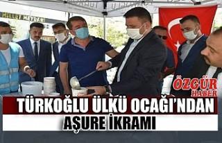 Türkoğlu Ülkü Ocağı'ndan Aşure İkramı