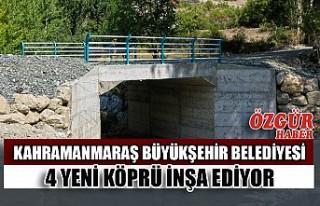 Büyükşehir 4 Yeni Köprü İnşa Ediyor