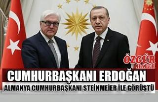 Cumhurbaşkanı Erdoğan Almanya Cumhurbaşkanı Steinmeier...