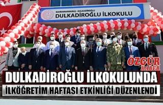Dulkadiroğlu İlkokulunda İlköğretim Haftası...