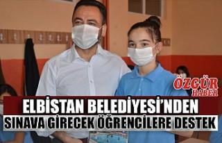 Elbistan Belediyesi'nden Sınava Girecek Öğrencilere...