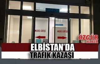 Elbistan'da Trafik Kazası