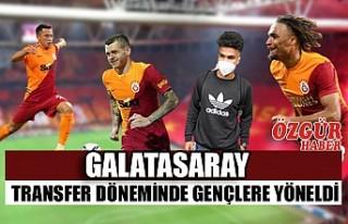 Galatasaray Transfer Döneminde Gençlere Yöneldi