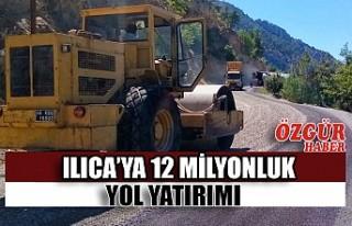 Ilıca'ya 12 Milyonluk Yol Yatırımı