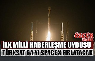 İlk Milli Haberleşme Uydusu Türksat 6A'yı...