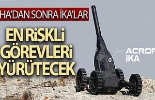 İnsansız Kara Araçları TSK'da Kullanılmaya...