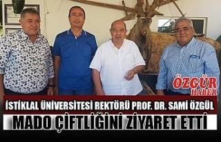 İstiklal Üniversitesi Rektörü Prof. Dr. Sami özgül...