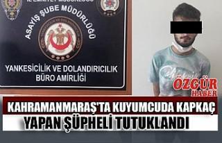Kahramanmaraş'ta Kuyumcuda Kapkaç Yapan Şüpheli...