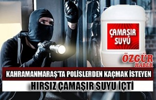 Kahramanmaraş'ta Polislerden Kaçmak İsteyen...