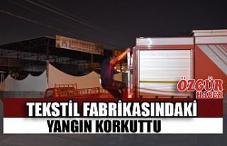 Kahramanmaraş'ta Tekstil Fabrikasında Çıkan...
