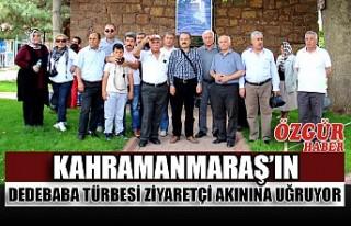 Kahramanmaraş'ın Dedebaba Türbesi Ziyaretçi...