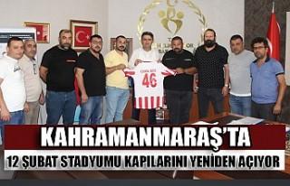 Kahramanmaraş'ta 12 Şubat Stadyumu Kapılarını...
