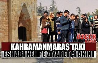 Kahramanmaraş'taki Eshabı Kehf'e Ziyaretçi...