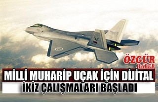 Milli Muharip Uçak İçin Dijital İkiz Çalışmaları...
