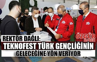 Rektör Dağlı: TEKNOFEST Türk Gençliğinin Geleceğine...