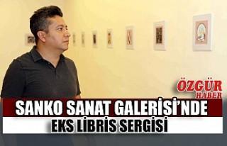SANKO Sanat Galerisi'nde Eks Libris Sergisi