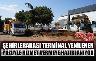 Şehirlerarası Terminal Yenilenen Yüzüyle Hizmet...