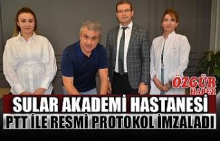 Sular Akademi Hastanesi PTT İle Resmi Protokol İmzaladı