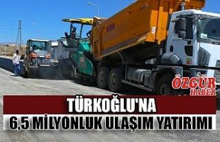Türkoğlu'na 6,5 Milyonluk Ulaşım Yatırımı
