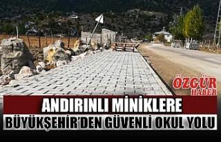 Andırınlı Miniklere Büyükşehir'den Güvenli...